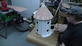 Building A Folk Art Style Victorian Purple Martin Birdhouse