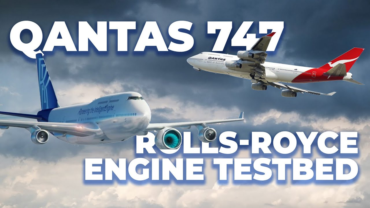Rolls-Royce To Take An Ex-Qantas Boeing 747 For Engine Testbed
