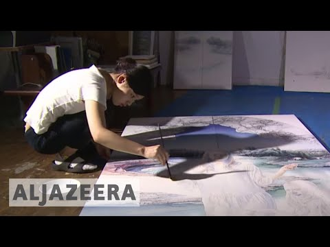 Art helps students bridge Japan-N Korea divide