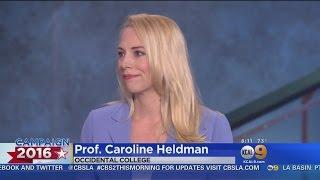 Occidental College Professor: California Democratic Primary Is 'Clinton's Race To Lose'