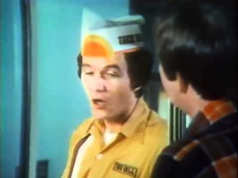 Taco Bell 1976 commercial with Patrick Duffy