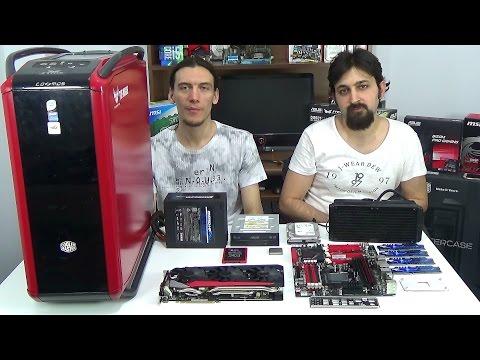AMD FX 9590 (AMD'nin amiral gemisi) R9 390X ile Sistem Toplama