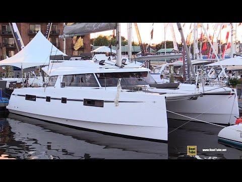 2017 Bavaria Nautitech 46 Fly Catamaran - Deck and Interior Walkaround - 2016 Annapolis Boat Show