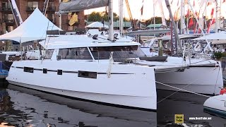 2017 Bavaria Nautitech 46 Fly Catamaran - Deck and Interior Walkaround - 2016 Annapolis Boat Show