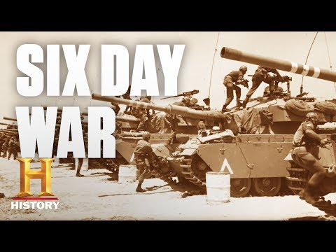 Here's How the Six-Day War Changed the Map of the Middle East | History