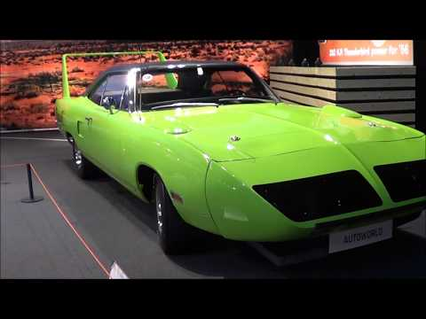 BIG FIVE - GM - MUSCLE CAR. PLYMOUTH SUPERBIRD 70, STANG FASTBACK 68...