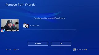 DELETING INACTIVE PLAYERS FROM MY PSN FRIENDS LIST! ADDING NEW PEOPLE LIVE ON STREAM! NBA 2K18 PARK