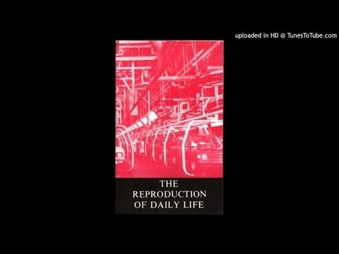 The Reproduction of Daily Life - AudioZine