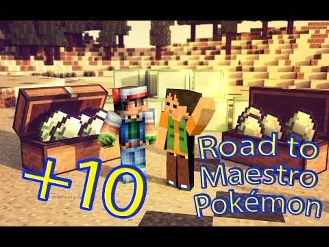 MARCOS ROJO! | Road to Maestro Pokémon Episodio 10 | Minecraft Mods Serie Fran MG y Nilcobax