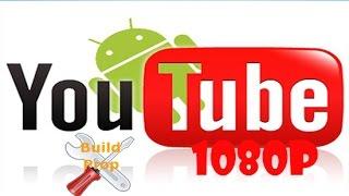 build editor para ver los videos 1080p en las rom root