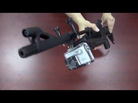 Крепление камеры к пневматической винтовке