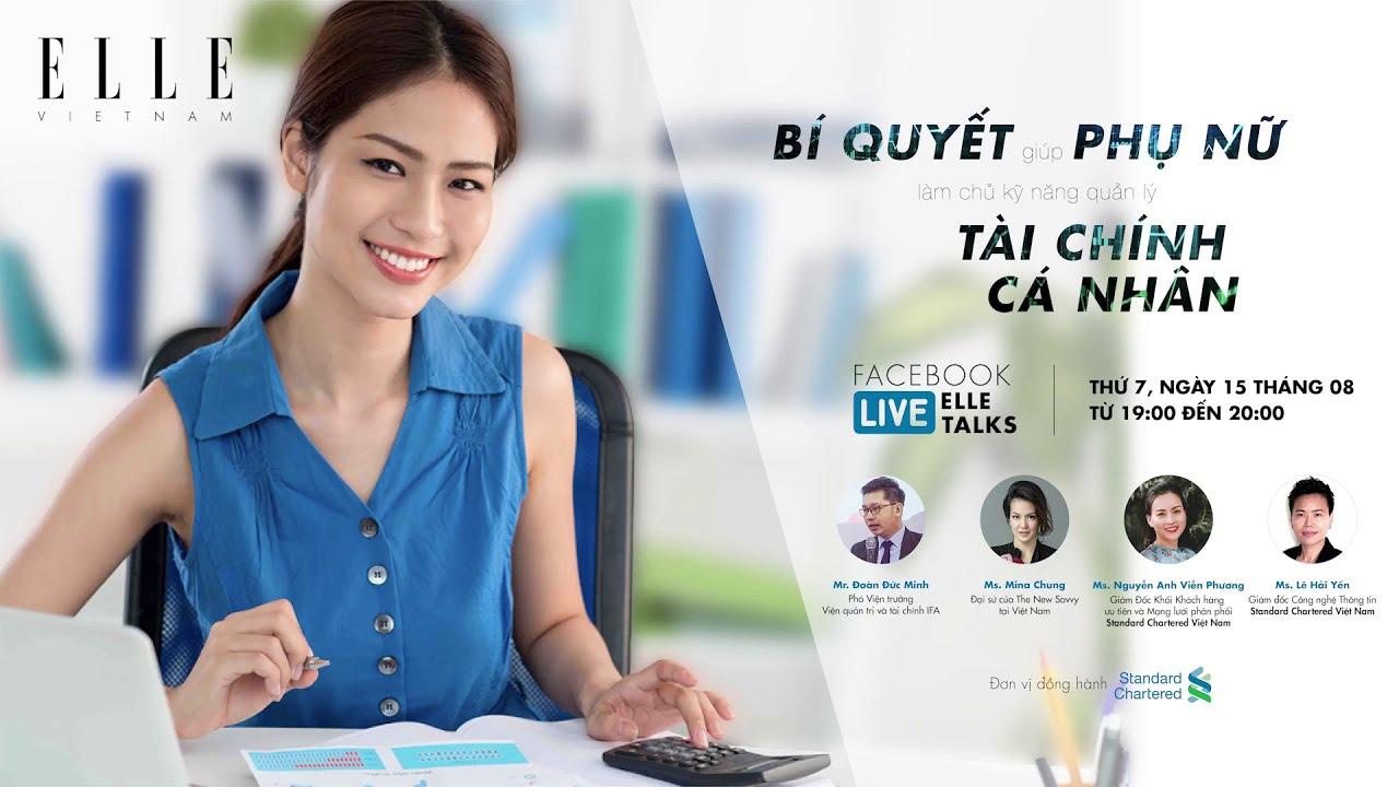 Bí quyết giúp phụ nữ quản lý tài chính