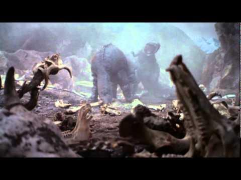 Giant Tyrannosaurus vs. Giant Triceratops
