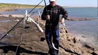 Pesca en Los Pocitos Partido de Patagones 5to Día Marzo de 2013