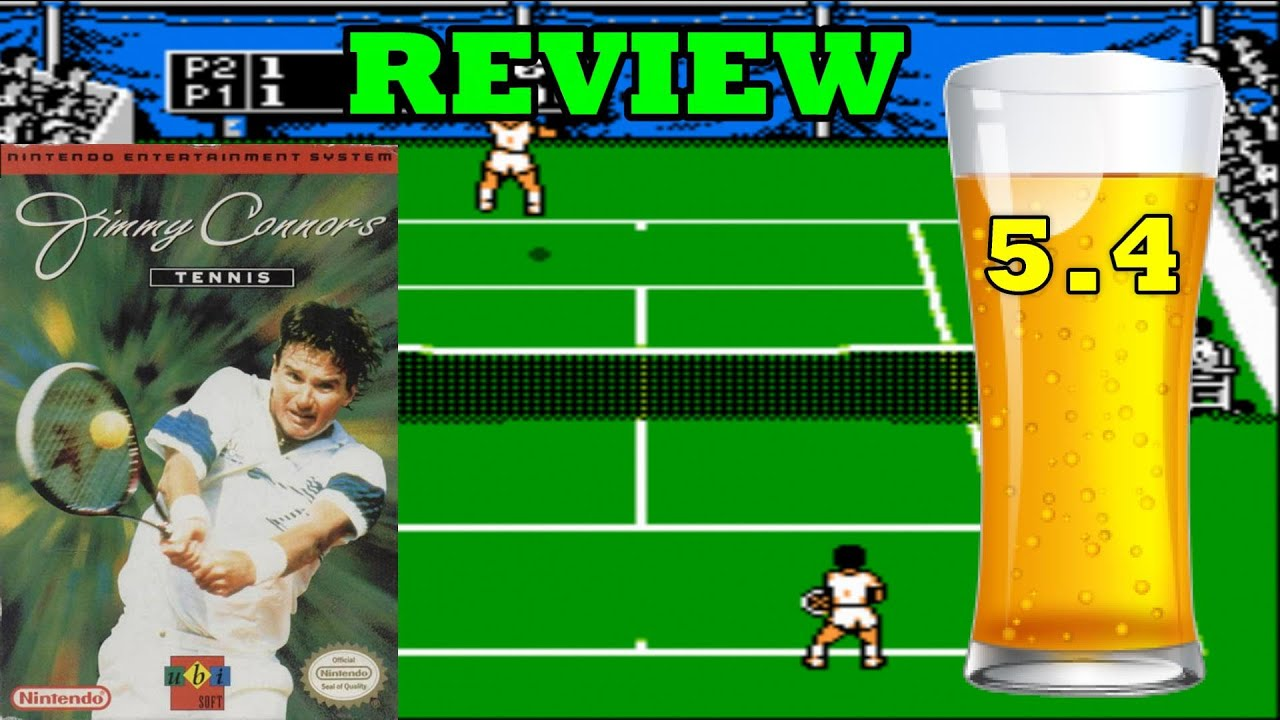 jimmy connors tennis nes