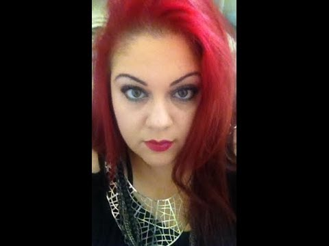 Diy Reverse Ombre With Red Hair Dye Youtube