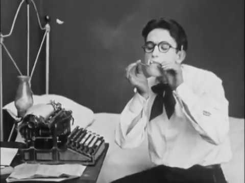 Bumping Into Broadway 1918 Hacia Broadway - Silent Comedy Short - Hal Roach/Harold Lloyd