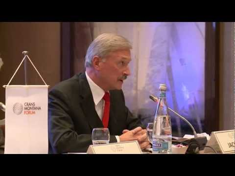 Crans Montana Forum - Security and Stability as a Challenge