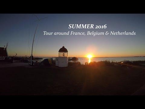 Tour around France, Belgium & Netherlands - Gopro hero 4 editing