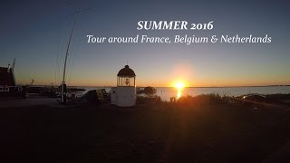 Tour around France, Belgium & Netherlands - Gopro hero 4 editing