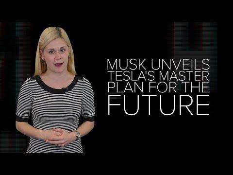 Elon Musk unveils Tesla's master plan for the future (CNET News)