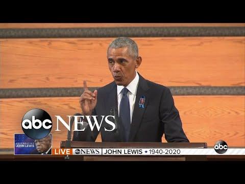 Barack Obama's Eulogy For Rep. John Lewis