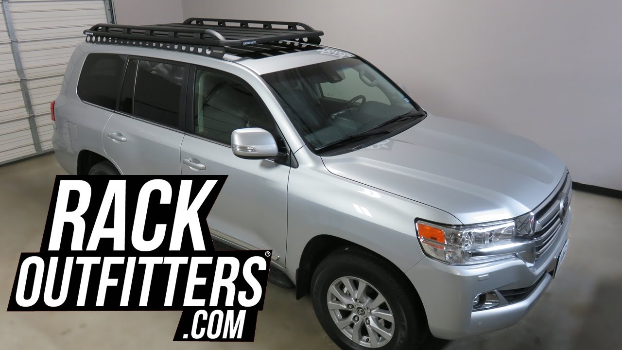 Toyota Land Cruiser With Rhino Rack Backbone Pioneer