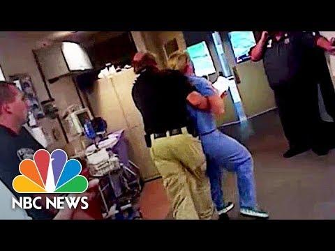 Bodycam Shows Arrest Of Salt Lake City Nurse For Refusing Blood Sample | NBC News
