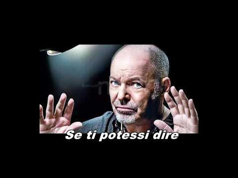 Vasco Rossi- Se Ti Potessi Dire Con Testo