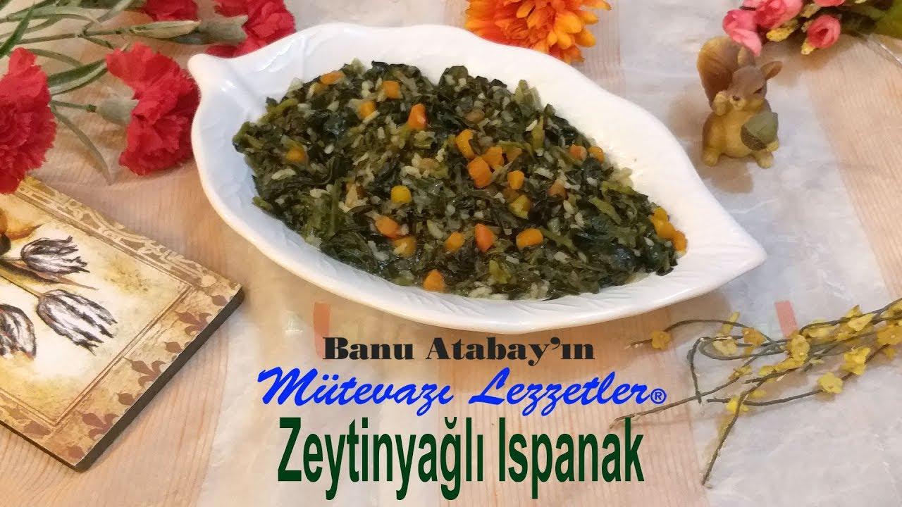 Zeytinyağlı Ispanak