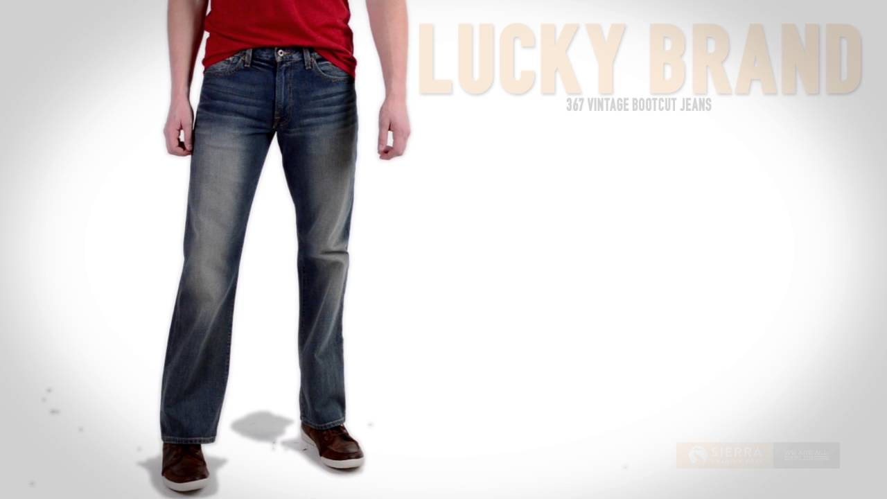 405bd361 Lucky Brand 367 Vintage Bootcut Jeans (For Men) - YouTube