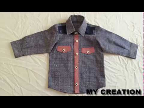 fad50082d69b how to cut shirt for baby boy simple and easy shirt cutting - YouTube