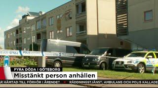 50-årig man anhållen för mordbranden i Göteborg - Nyheterna (TV4)