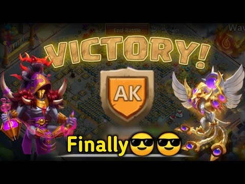 HBM AK | Victory 😎😎😎😎 | 1st On Android(English) Server | No Bloody Mary | Beast | Castle Clash