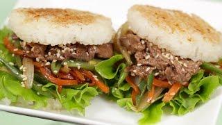 Rice Burgers Recipe ライスバーガー 作り方 レシピ