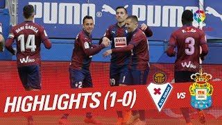 Resumen de SD Eibar vs UD Las Palmas 1-0