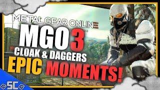 MGO3 | Epic Moments - Kakashi's Cloak & Daggers (TSNE) Montage | Metal Gear Online 3 (MGO) GAMEPLAY