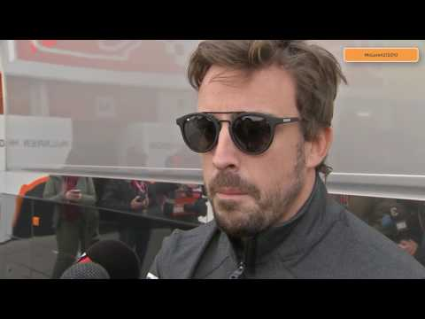 F1 TESTS 2017 - FERNANDO ALONSO BLAMES HONDA