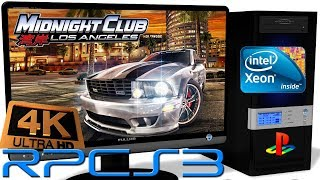 RPCS3 0.0.5 [PS3] - Midnight Club: Los Angeles [4K-Gameplay] New RSX. Async Shaders. Vulkan api #13
