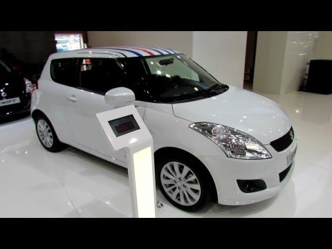 2013 Suzuki Swift Little Marcel 1,2 VVT - Exterior and Interior Walkaround - 2012 Paris Auto show