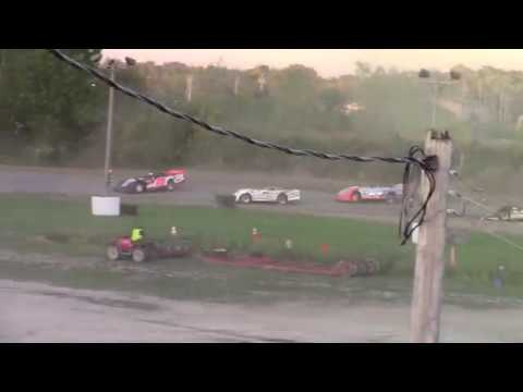 Genesee Speedway Crate Late Model B Main 9-14-19