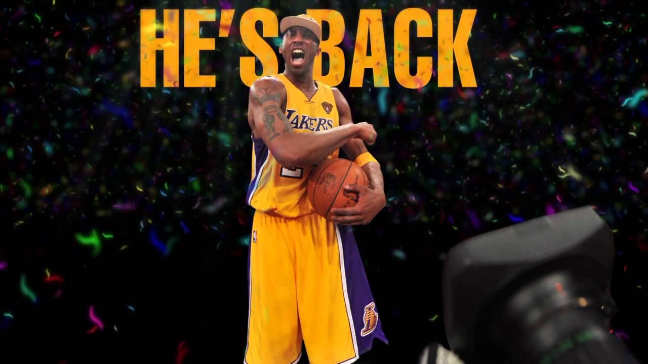 buy popular ab653 ffa65 Kobe Bryant Is Back! NBA