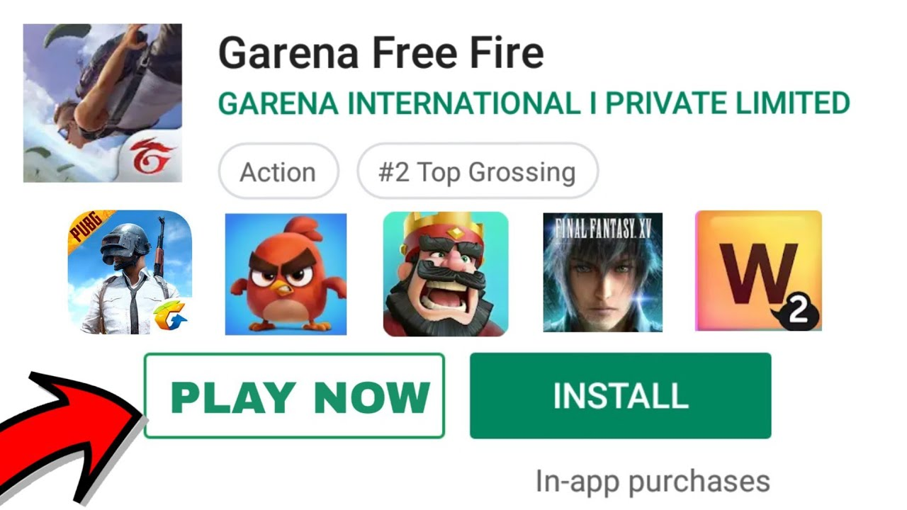Play Android Games Without Downloading Like Freefire Youtube