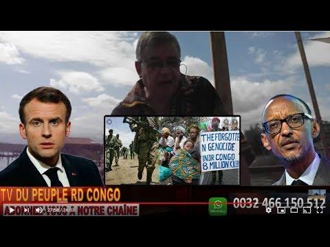 URGENT RDC OBLIGE DE NEGOCIER AVEC PAUL KAGAME. HERVE TV KAGAME PLUS GD CRIMINEL DU SIECLE+PRESSE RD