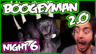 Boogeyman 2.0 Gameplay NIGHT 6| 2 BOOGEYMAN SECRETS | Boogeyman 2.0 Jumpscares