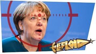 Offene Gewalt gegen Merkel // #mundaufmachen // Reporter live im TV erschossen [#LeNEWS]