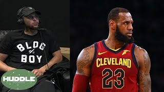 LeBron James TROLLED After Embarrassing Loss, Steph Curry SHADES Media! | Huddle
