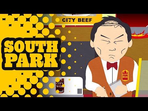 Butters Signs A City Wok Sponsorship Deal - SOUTH PARK
