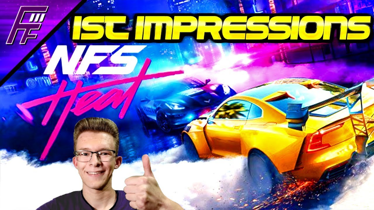 NEED FOR SPEED HEAT DELUXE EDITION: My first impressions!