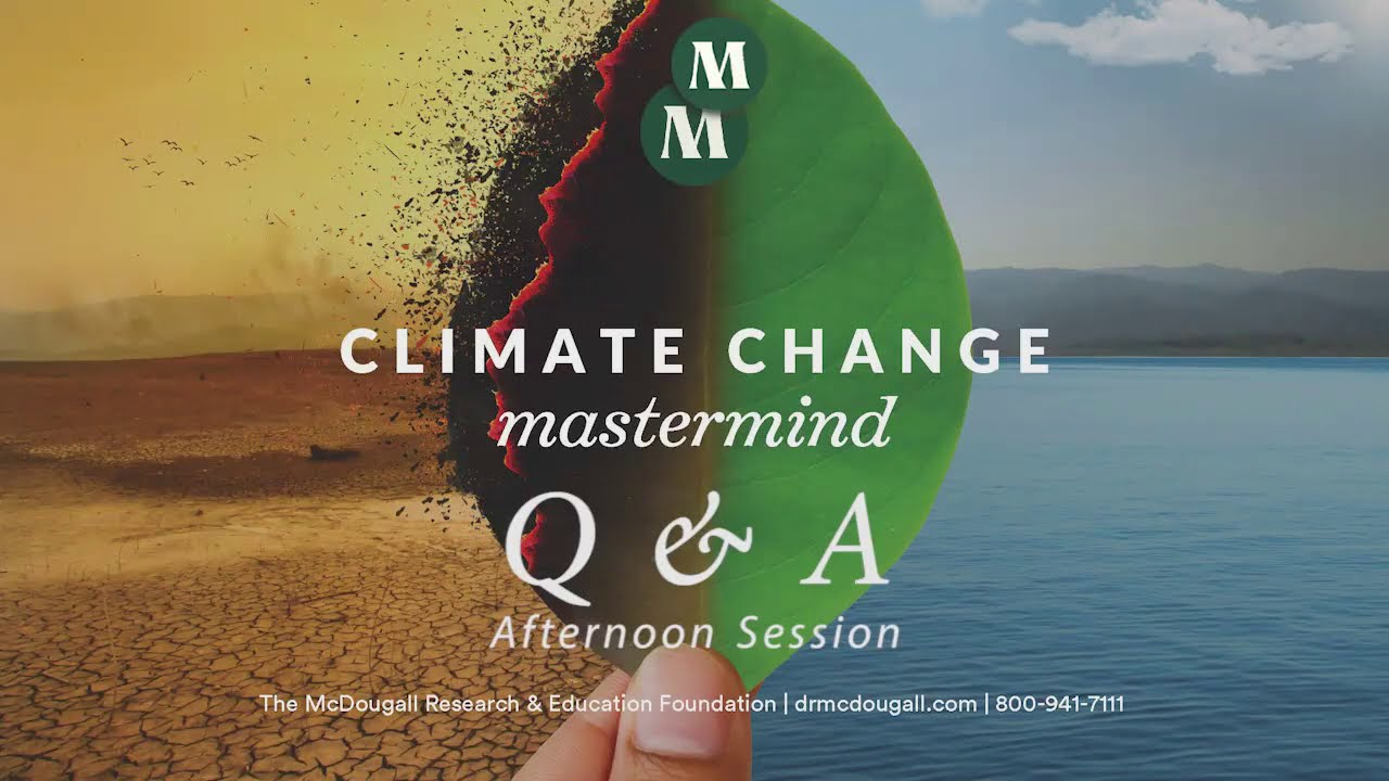 Climate Change Panel Q&A with McDougall, Lent, Davis, & Eshel